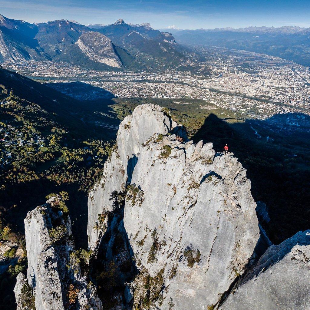 Grenoble city, France